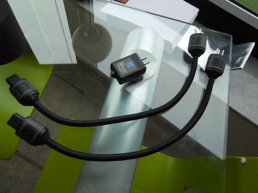 PS AUDIO  JEWEL & NOISE HARVESTER 2 POWER CABLES & TWEAK BUNDLE
