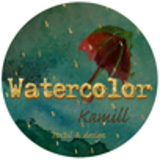 Watercolor Kamill