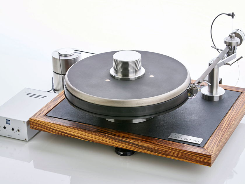 """Cantano Turntables Cantano W/T turntable and 12"""" tonearm - NEW MODEL - made in Berlin"""