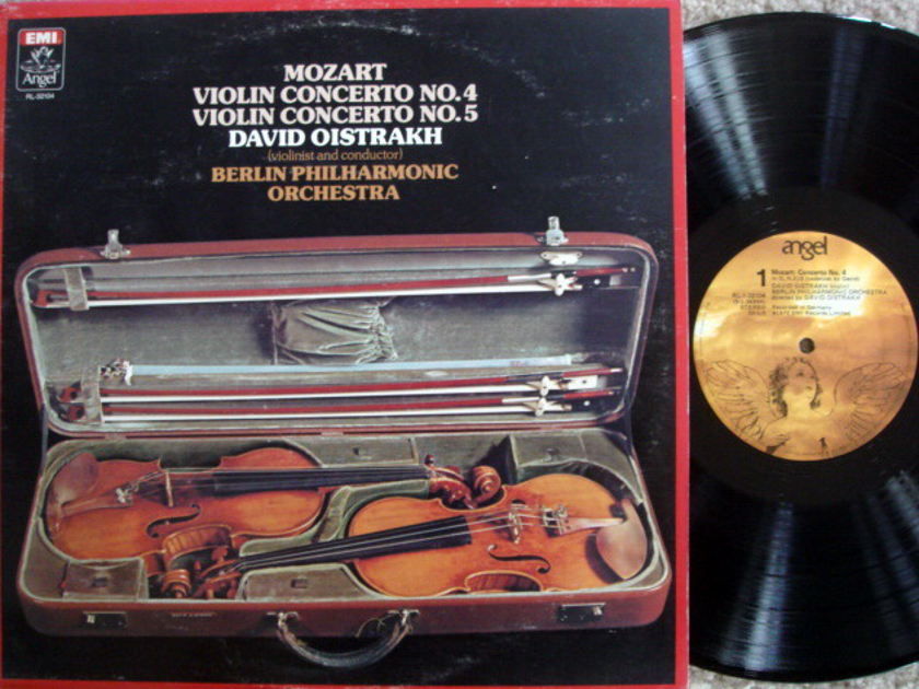 EMI Angel / OISTRAKH, - Mozart Violin Concertos No.4 & 5, MINT!