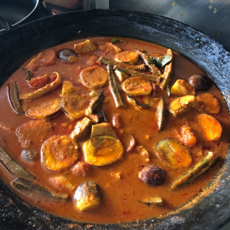 Asam-Pedas-ikan-pari , Me and my family enjoyed, Very taste and Nice 👍, I follow 100% on the recipe.  Brought all my INGREDIENT from RedMart online Singapore.   Cheers the best 😋
