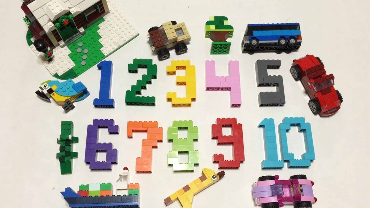 lego learn numbers