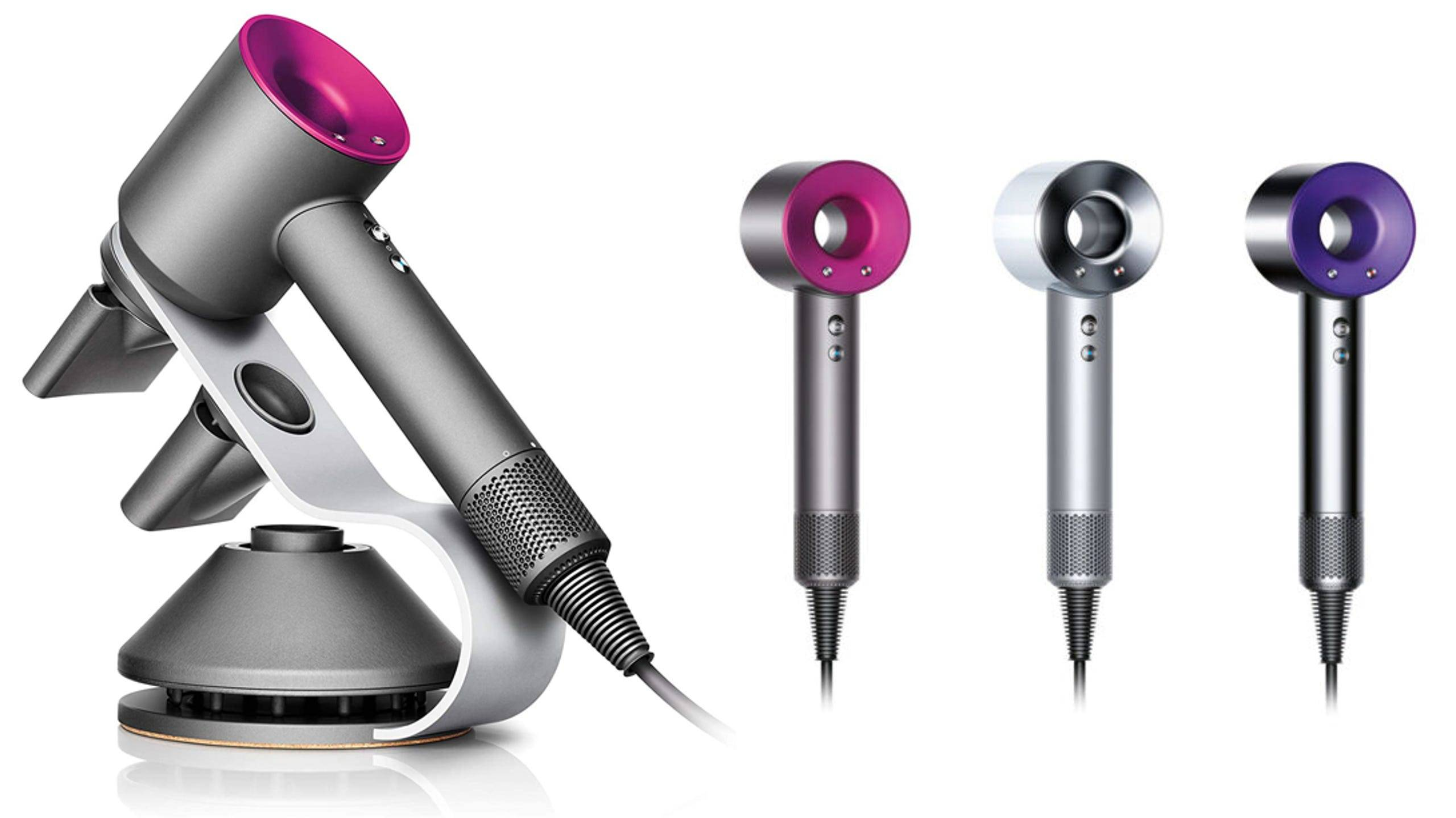 Image of dyson supersonic hair dryer for wavy and curly hair