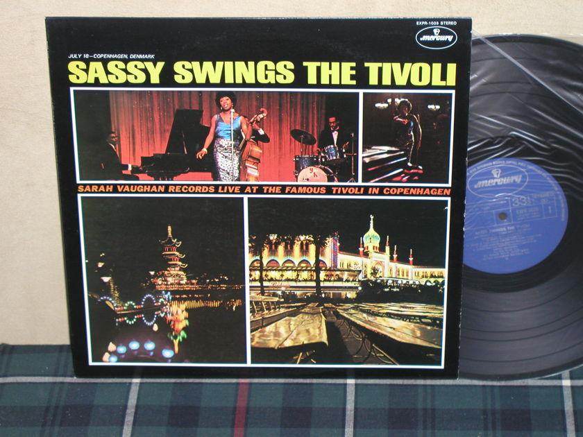 Sarah Vaughan - Sassy Swings The Tivoli HQ JPN Import LP