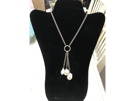 Baroque Pearl Necklace from Janet Greene Designs