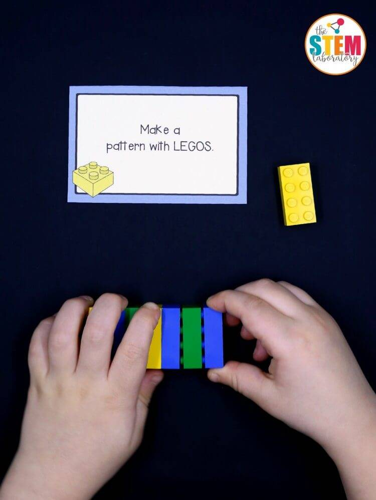 lego stem card example