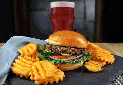 House-made Black Bean Burger