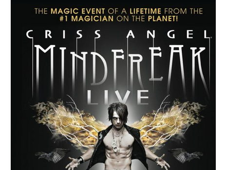 Two Tickets to Criss Angel MINDFREAK LIVE in CT