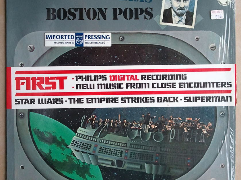 Sealed PHILIPS | JOHN WILLIAMS - - FIRST Philips Digital Recording