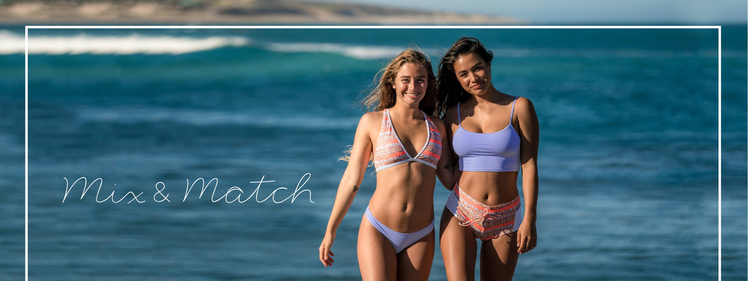 Shop the MIX AND MATCH bikinis!