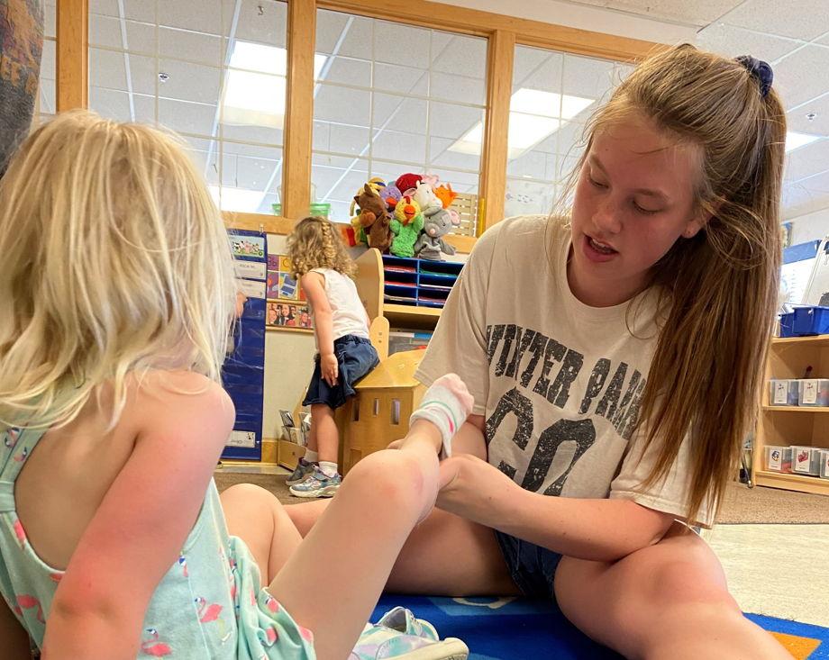 Bridget Sargent , Preschool