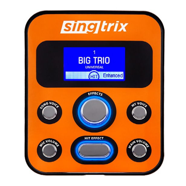 SINGTRIX KARAOKE MACHINE SYSTEM | SINGTRIX STUDIO EFFECTS CONSOLE