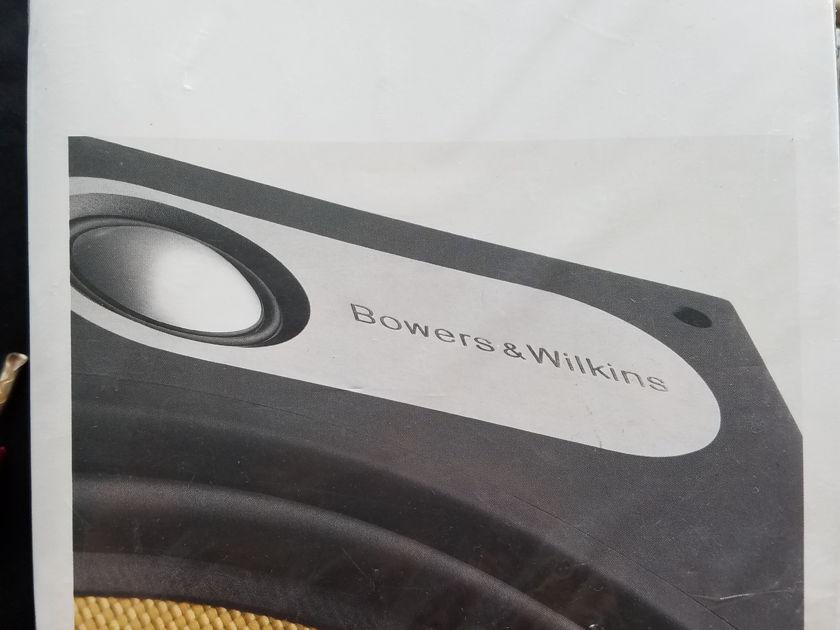 "B&W 683 Pair of Dual Loudspeakers 6.5"" - Great Condition"