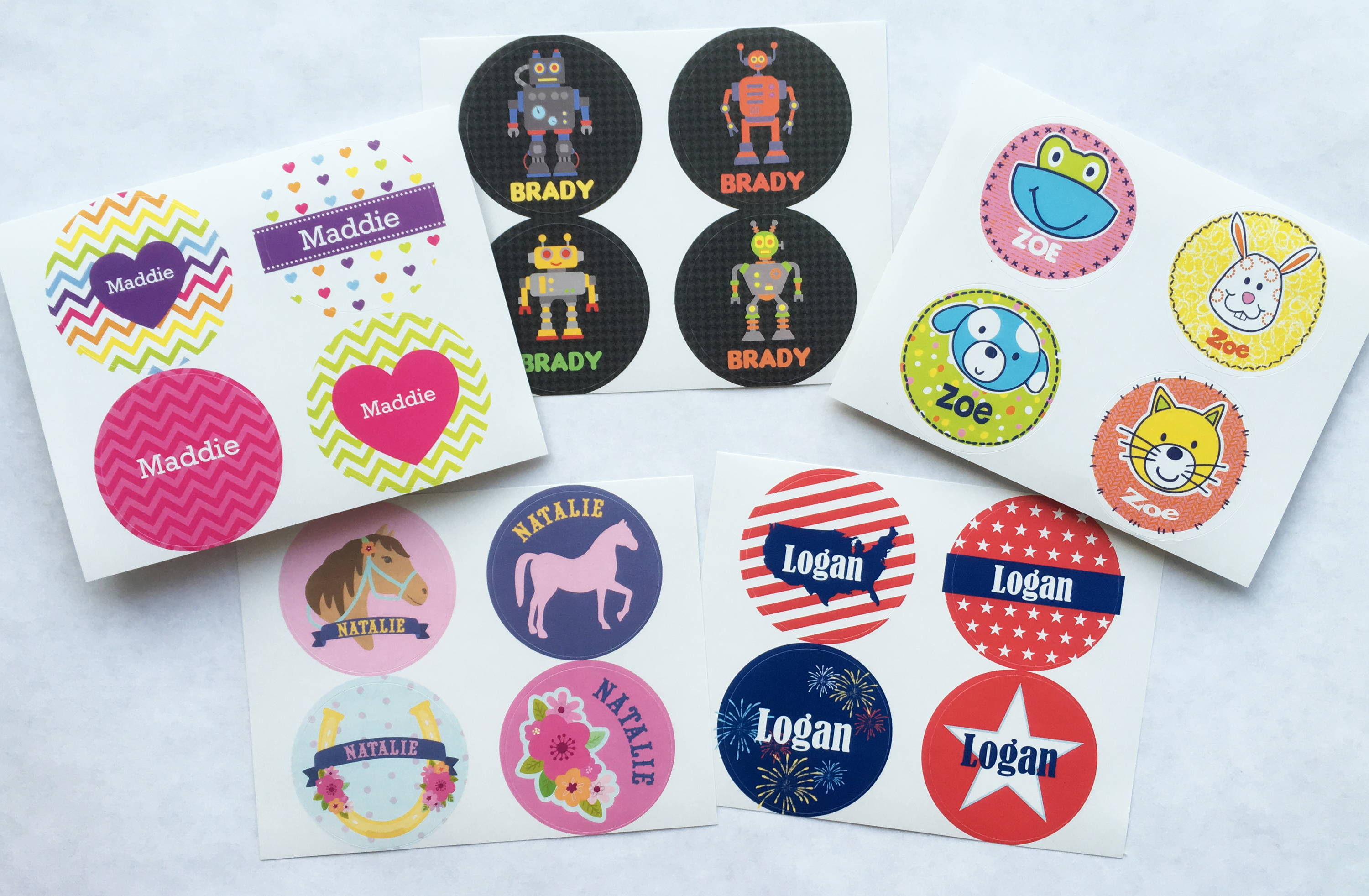 personalized sticker | great party favors