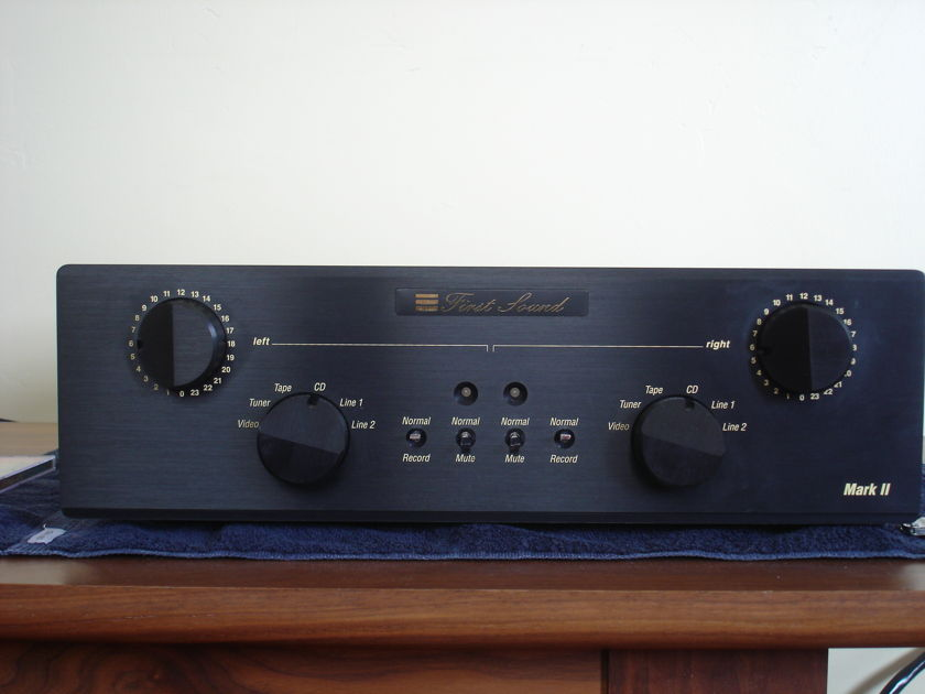 First Sound Presence Deluxe 4.0 MkII with Paramount Upgrade