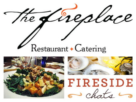 The Fireplace in Brookline: Fireside Chat for Two