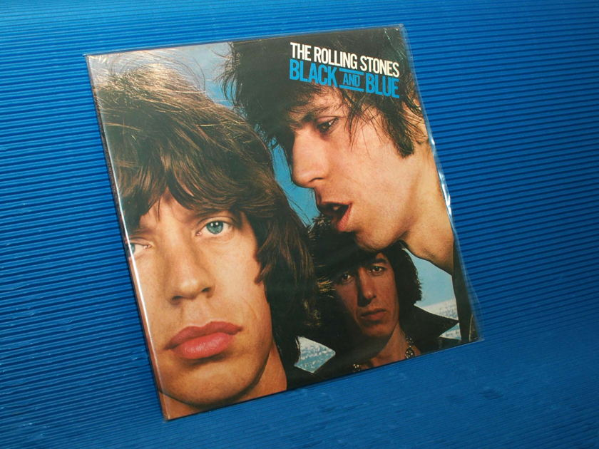 "THE ROLLING STONES - - ""Black & Blue"" - Rolling Stones Records 1976 Sealed"