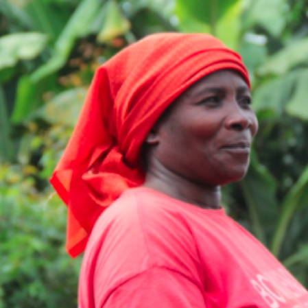 Dignified farmer - Ms. Katambara  Pendeza Apoline