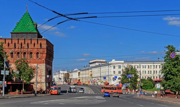 Автомобильно-пешеходная экскурсия по Купеческому Нижнему Новгороду