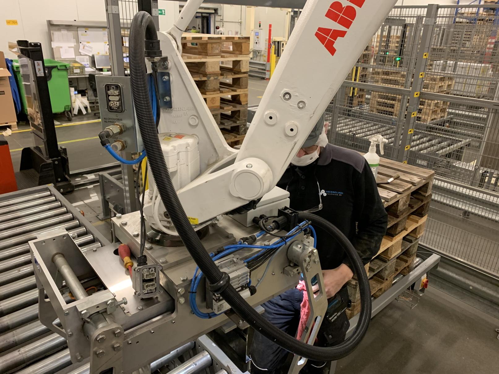 Robot onderhoud