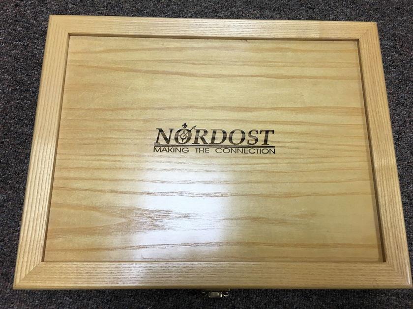 Nordost Valhalla 1mt with WBT Nextgen 0110 ag RCA's