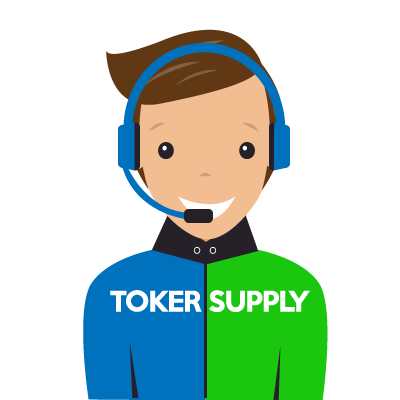 graphic of customer service rep