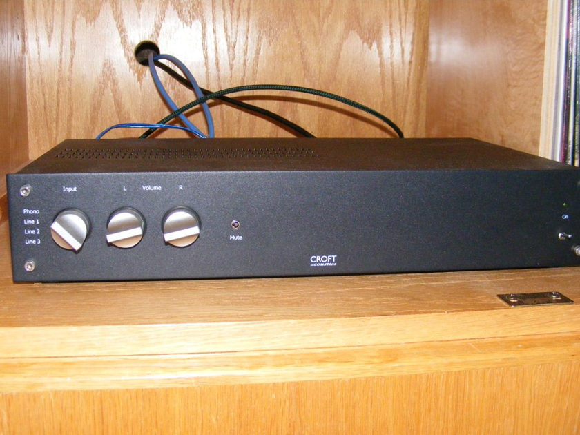 Croft Acoustics Phono Integrated Amplifier