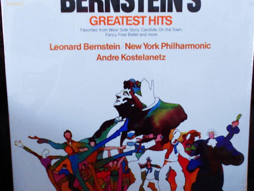 FACTORY SEALED ~ LEONARD BERNSTEIN ~NEW YORK PHILHARMONIC - ~GREATEST HIT S~ COLUMBIA M 30304 (1971)