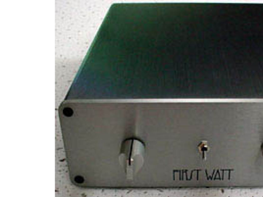 Pass Labs First Watt B-1 Pre-amp