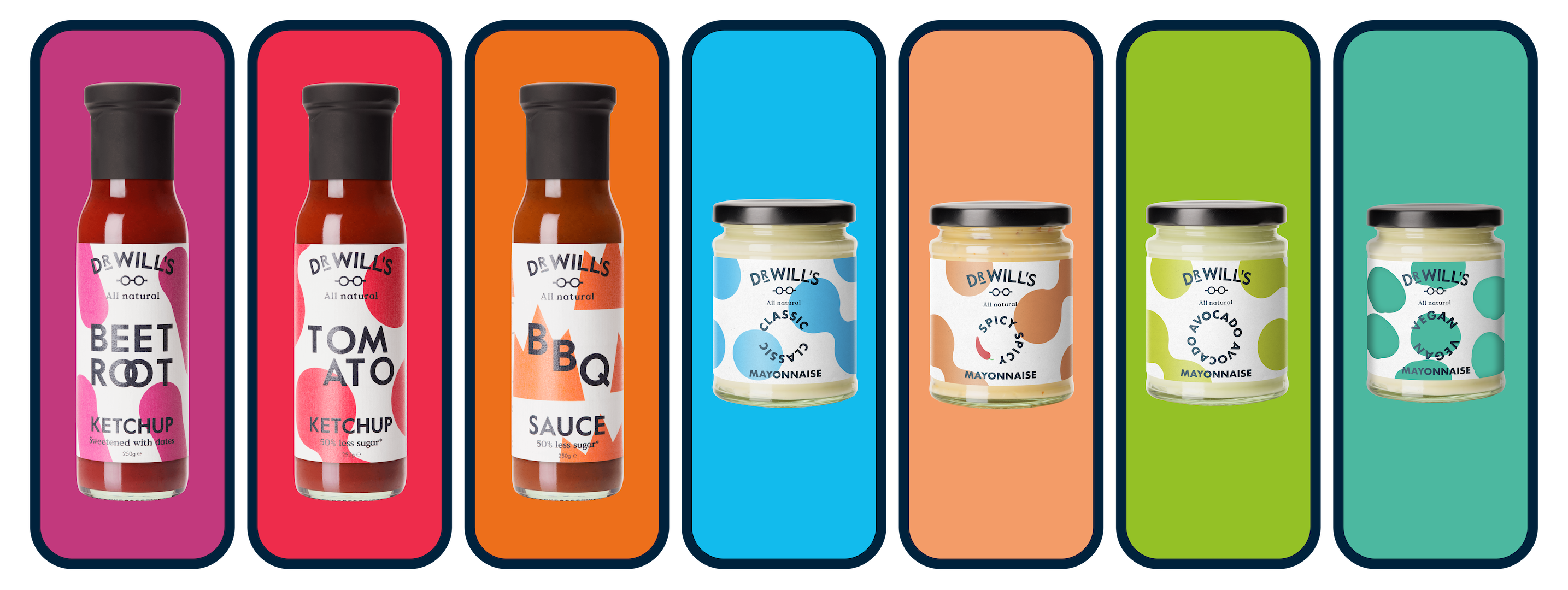 Great Tasting Natural Condiments | Dr Will's – Dr Will's