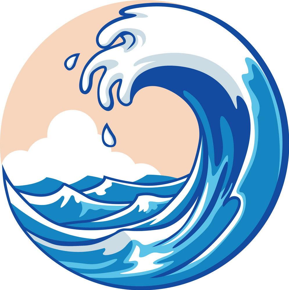 Ocean wave vector 1264286