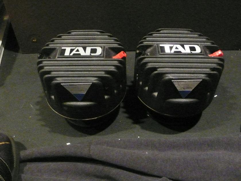 TAD TD-4002 horn drivers with factory beryllium diaphragms