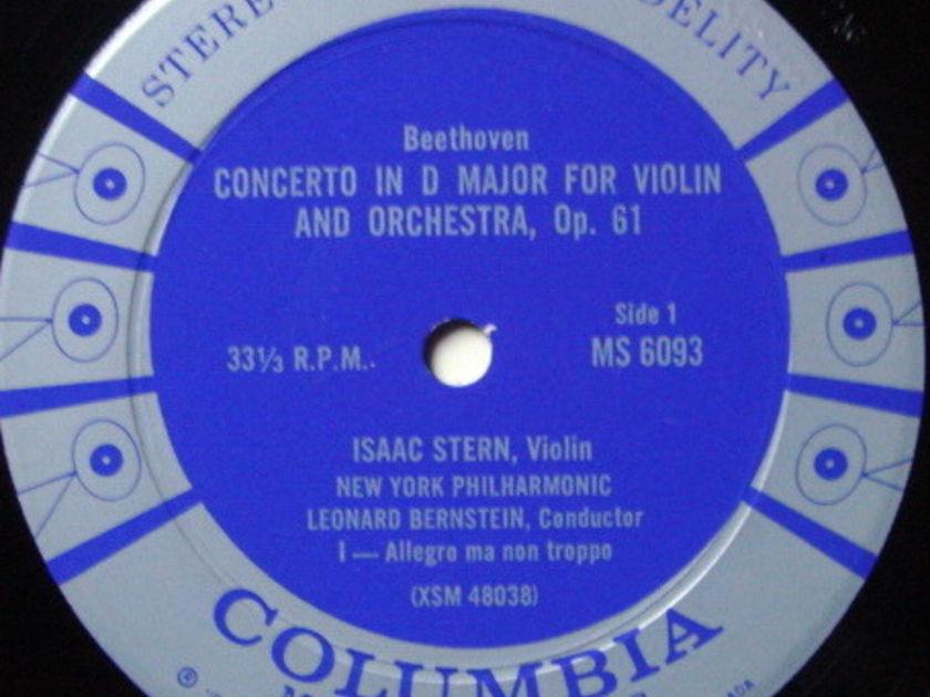 Columbia 6-EYE / STERN, - Beethoven Violin Concerto, NM!