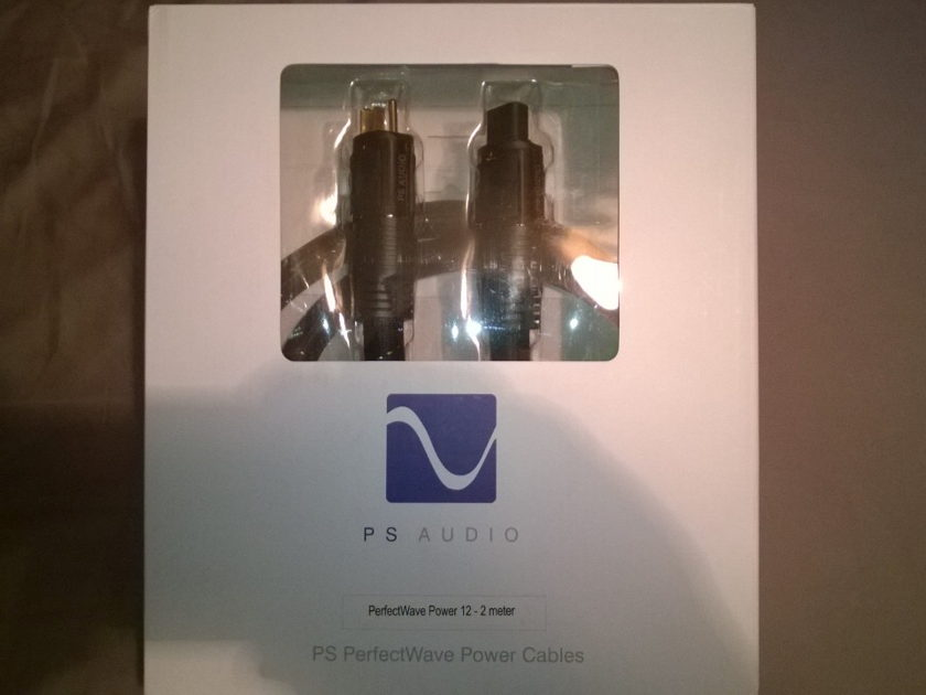 PS Audio AC-12  Perfectwave 2 meter New in Box! Free Shipping!