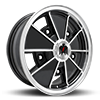 klassik rader zodiac black machined wheel