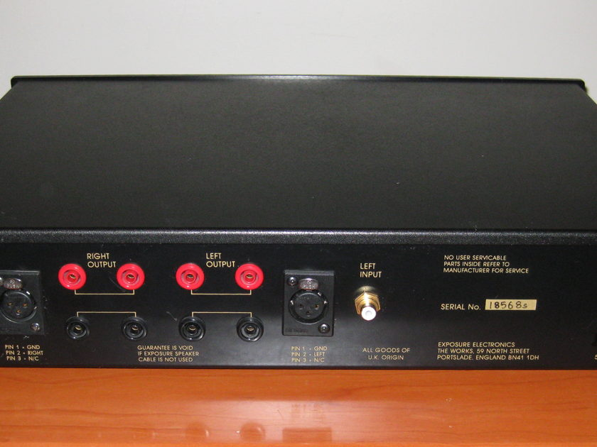 Exposure Electronics Super 18 (XVIII) Stereo Power Amplifier