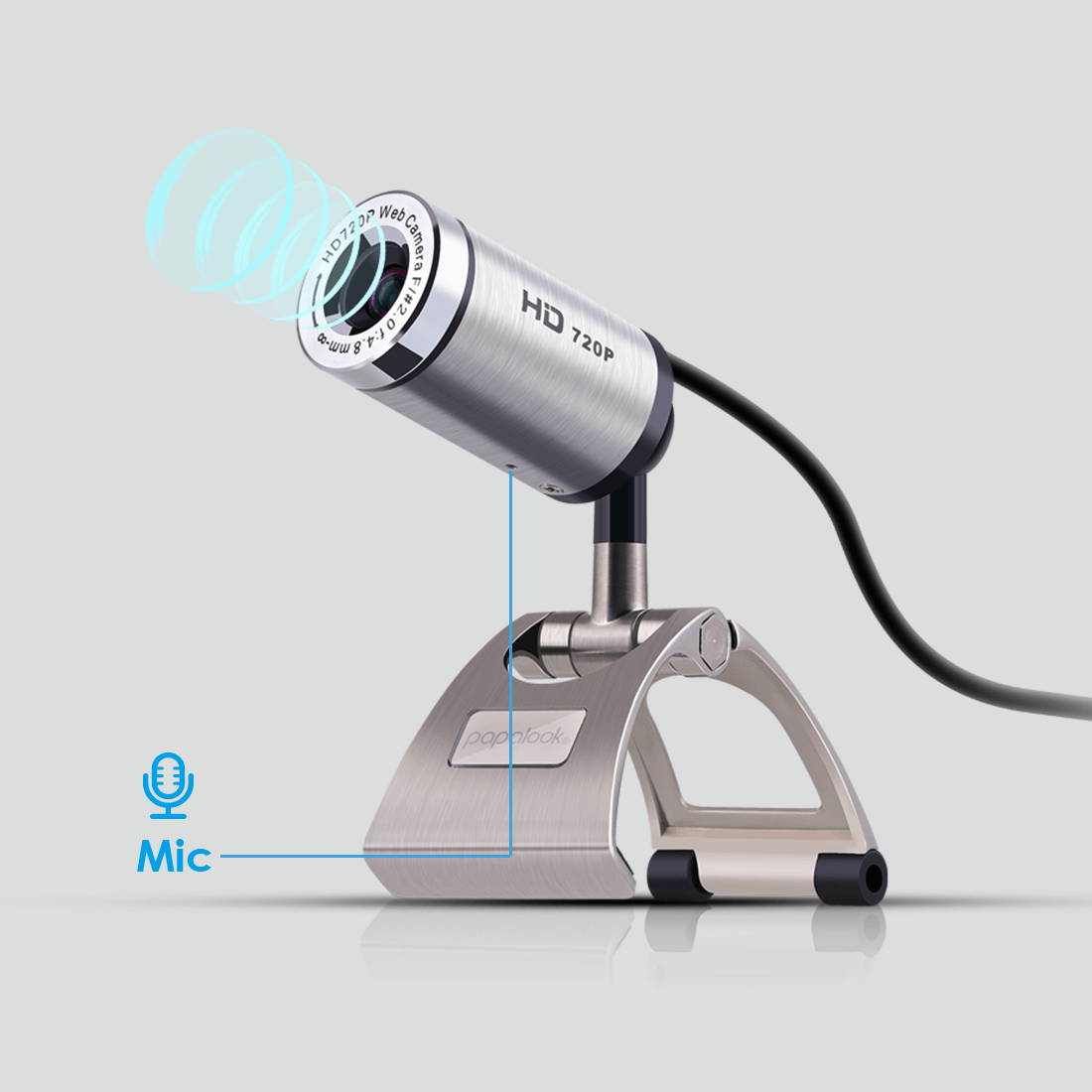 Built-in noise cancelling mic assures clearer conversations.