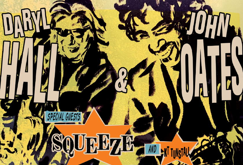 Daryl Hall & John Oates artwork