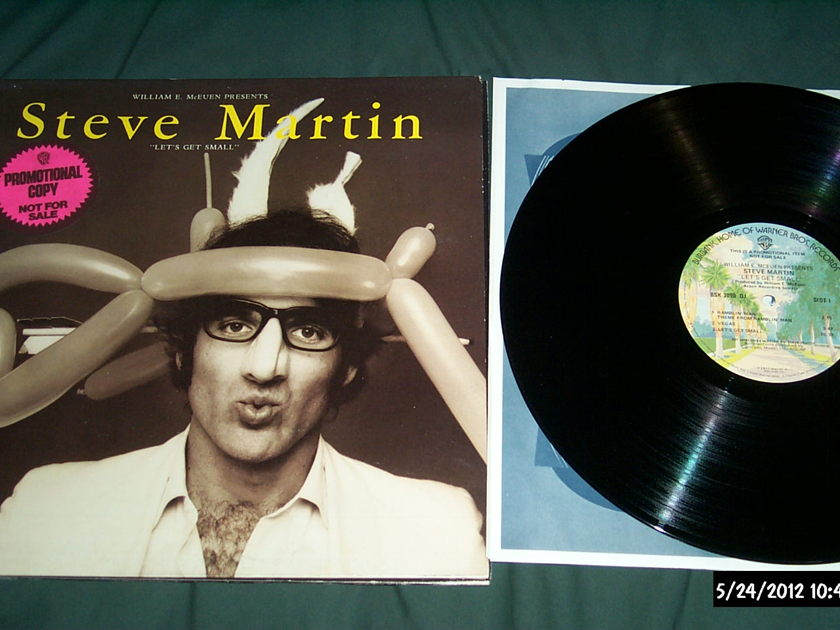 Steve Martin - Let's Get Small Promo Pressing LP NM