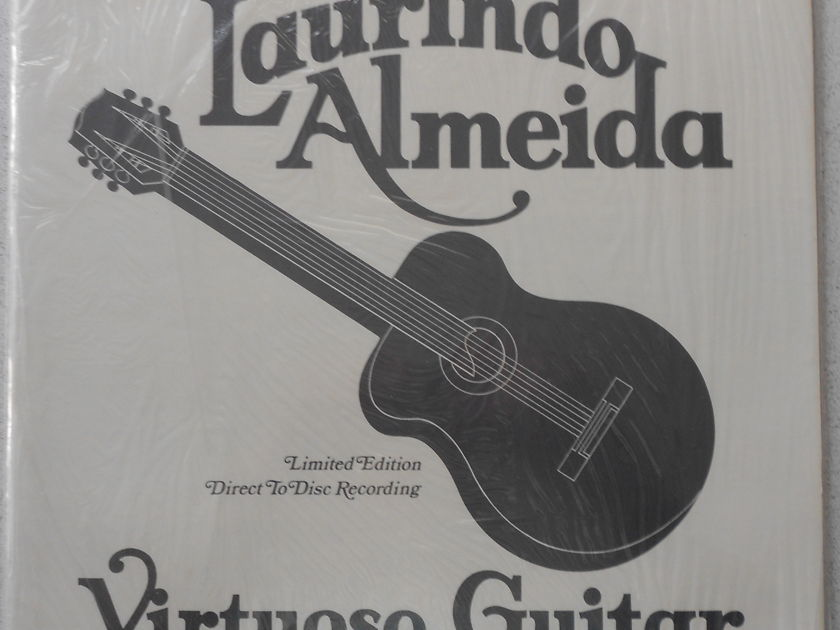 LAURINDO ALMEIDA - VIRTUSO GUITAR DIRECT TO DISC RECORDING