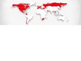 Carte du monde E&V