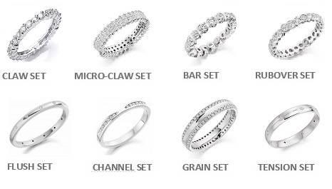 Eternity rings in wide range of diamond settings from Pobjoy Diamonds