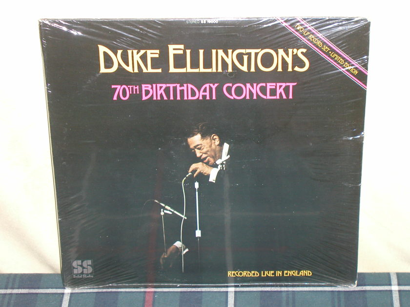 Duke Ellington's - 70th Birthday Concert Still SEALED From 1970's!
