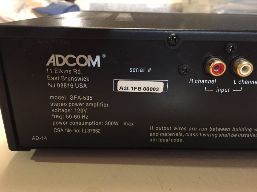 Adcom GFA-535L
