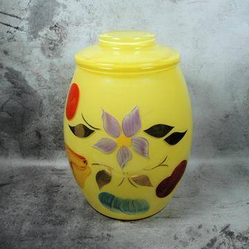 bartlett collins yellow cookie jar