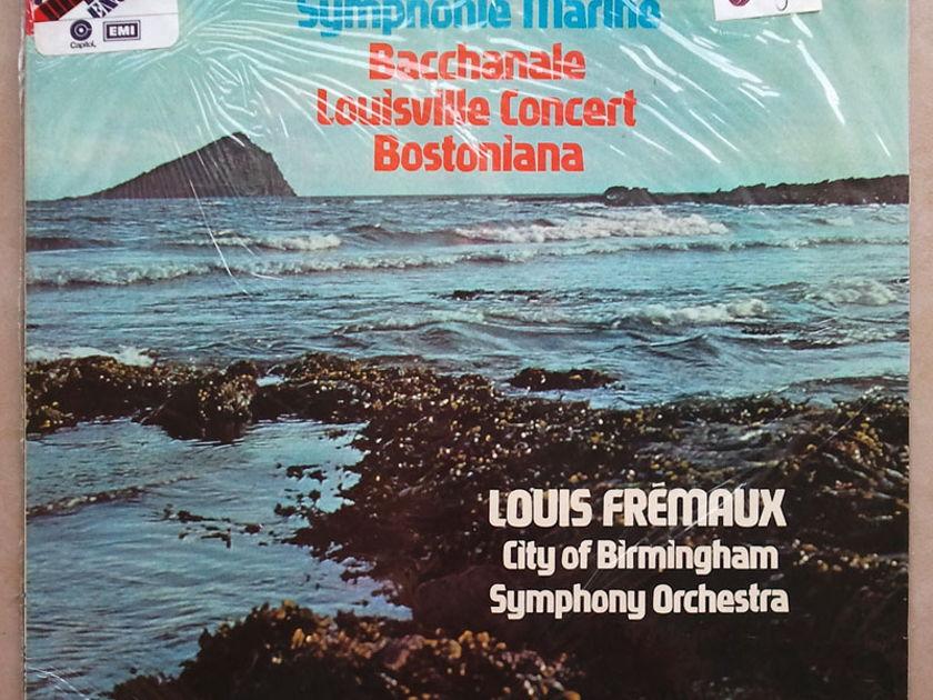 Sealed EMI HMV   FREMAUS/IBERT - Symphonie Marine, Bacchanale, Louisville Concert, Bostoniana