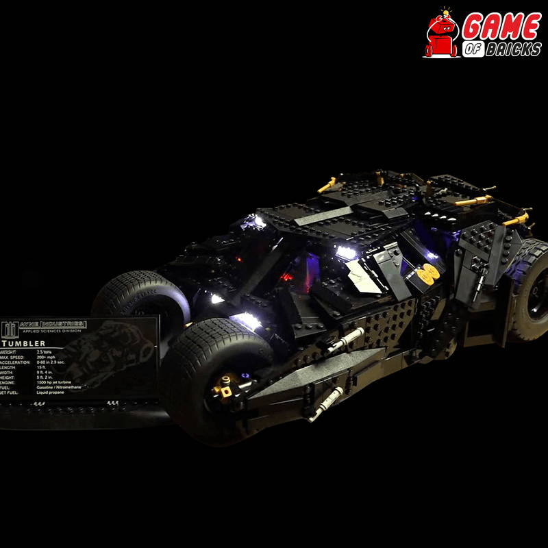 lego night light BATMAN TUMBLER 76023