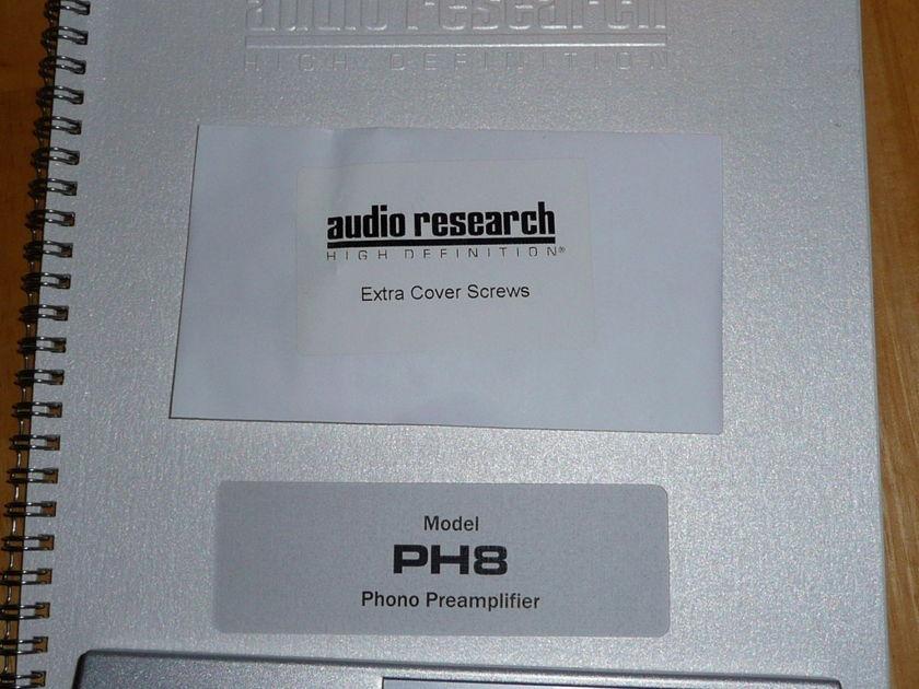 Audio Research PH8 Tube Phono