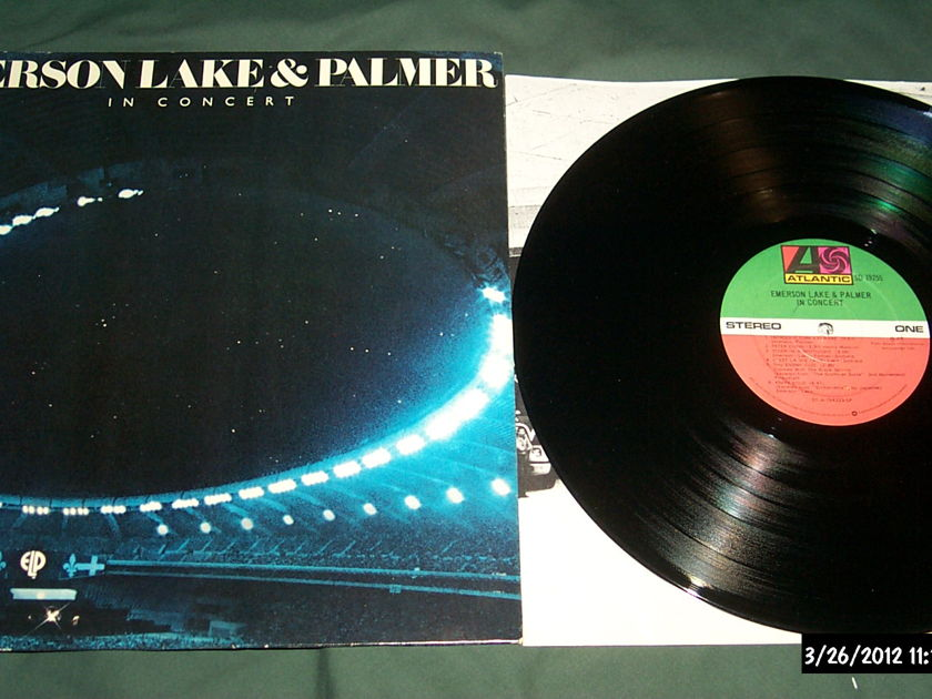 Emerson Lake & Palmer - In Concert  LP NM