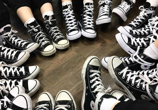 lots of converse all star